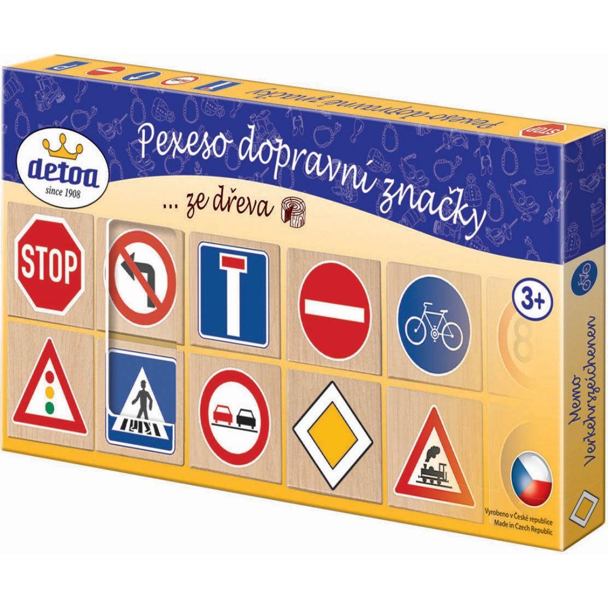 Detoa Pexeso: dopravné značky