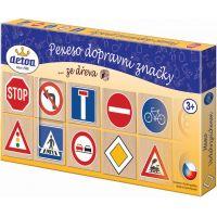 Detoa Pexeso: dopravné značky 2