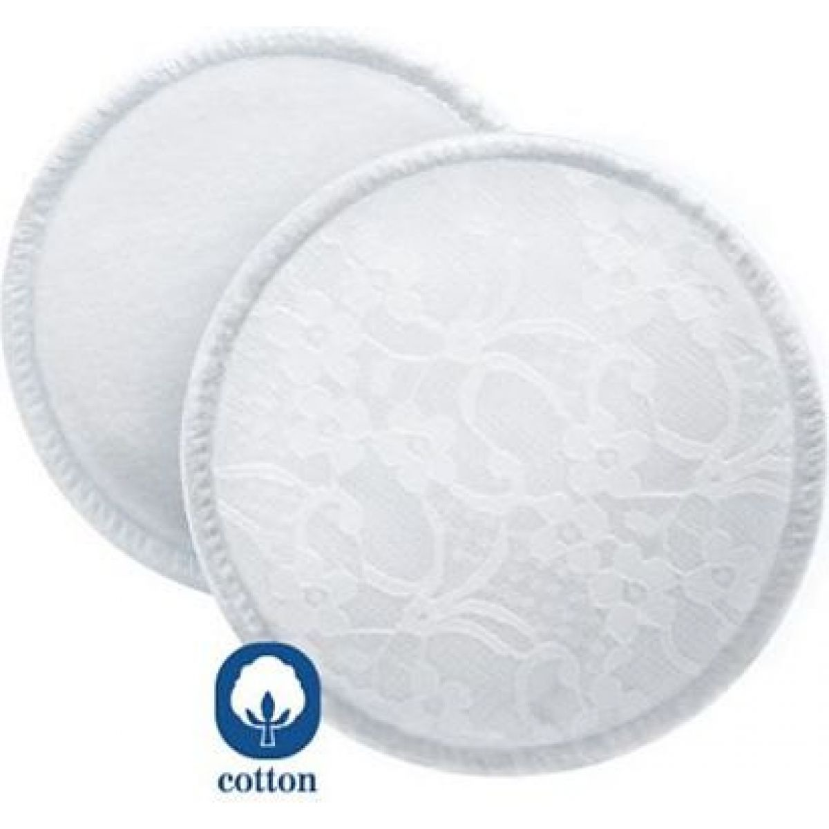 Avent absorpční vložky bavlněné prací 6 ks
