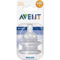 Philips Avent SCF634/27 Cumlík AIRFLEX 4 otvory od 6 m, 2 ks 2