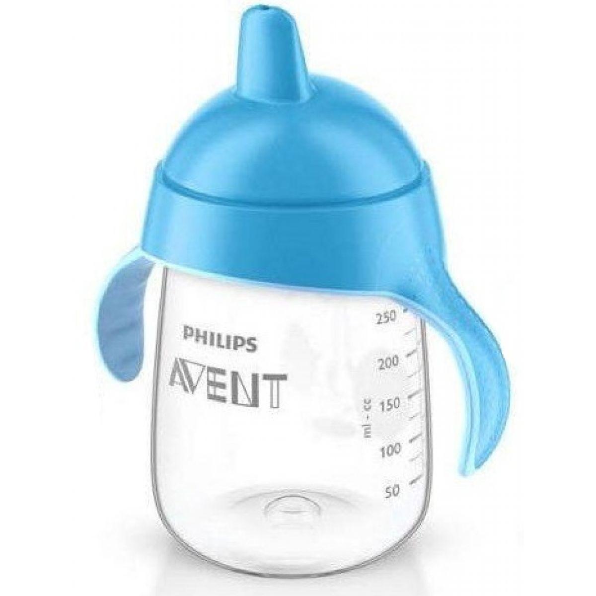 Philips Avent hrneček pro první doušky Premium 340 ml modrá