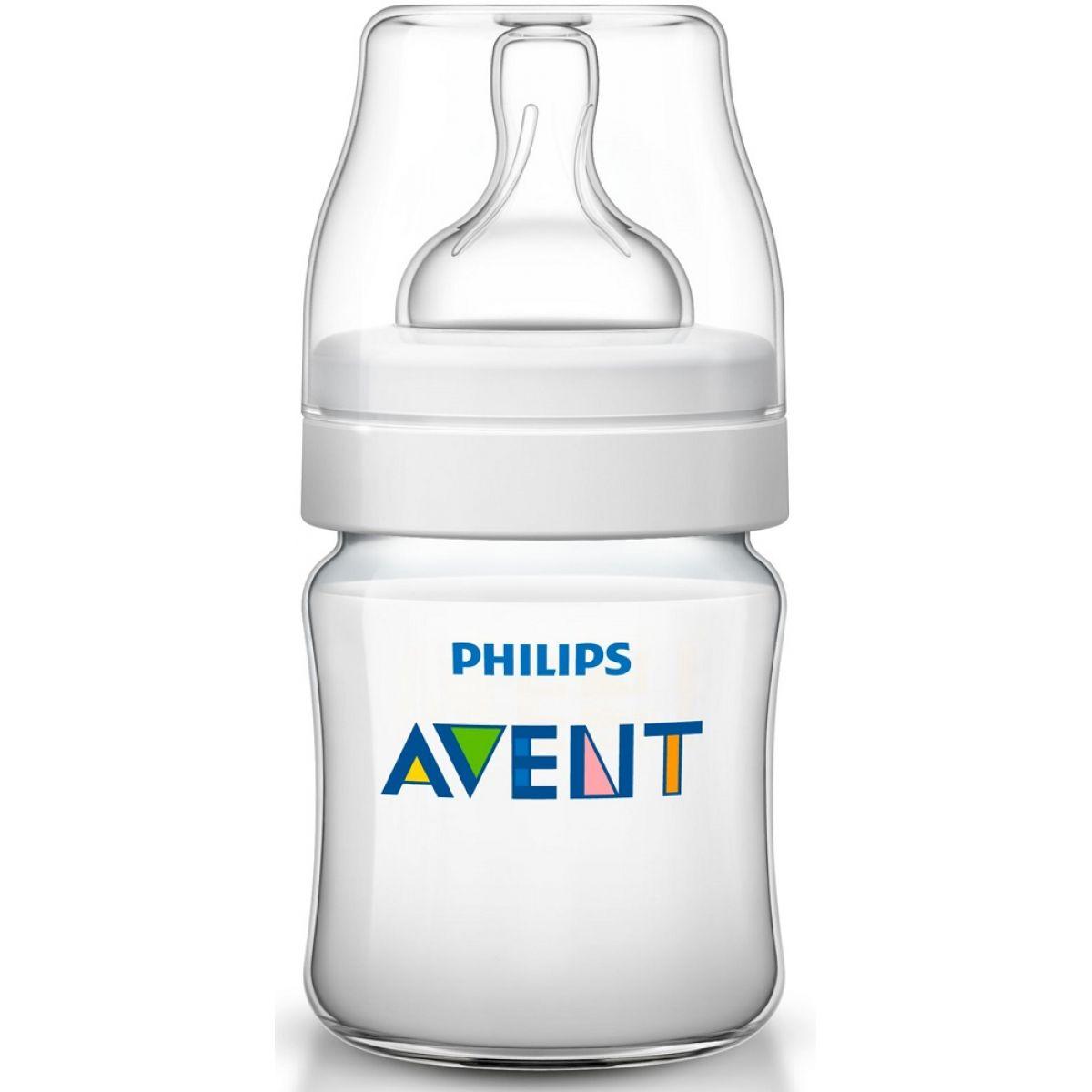 Avent Dojčenská fľaša transparentná 125 ml