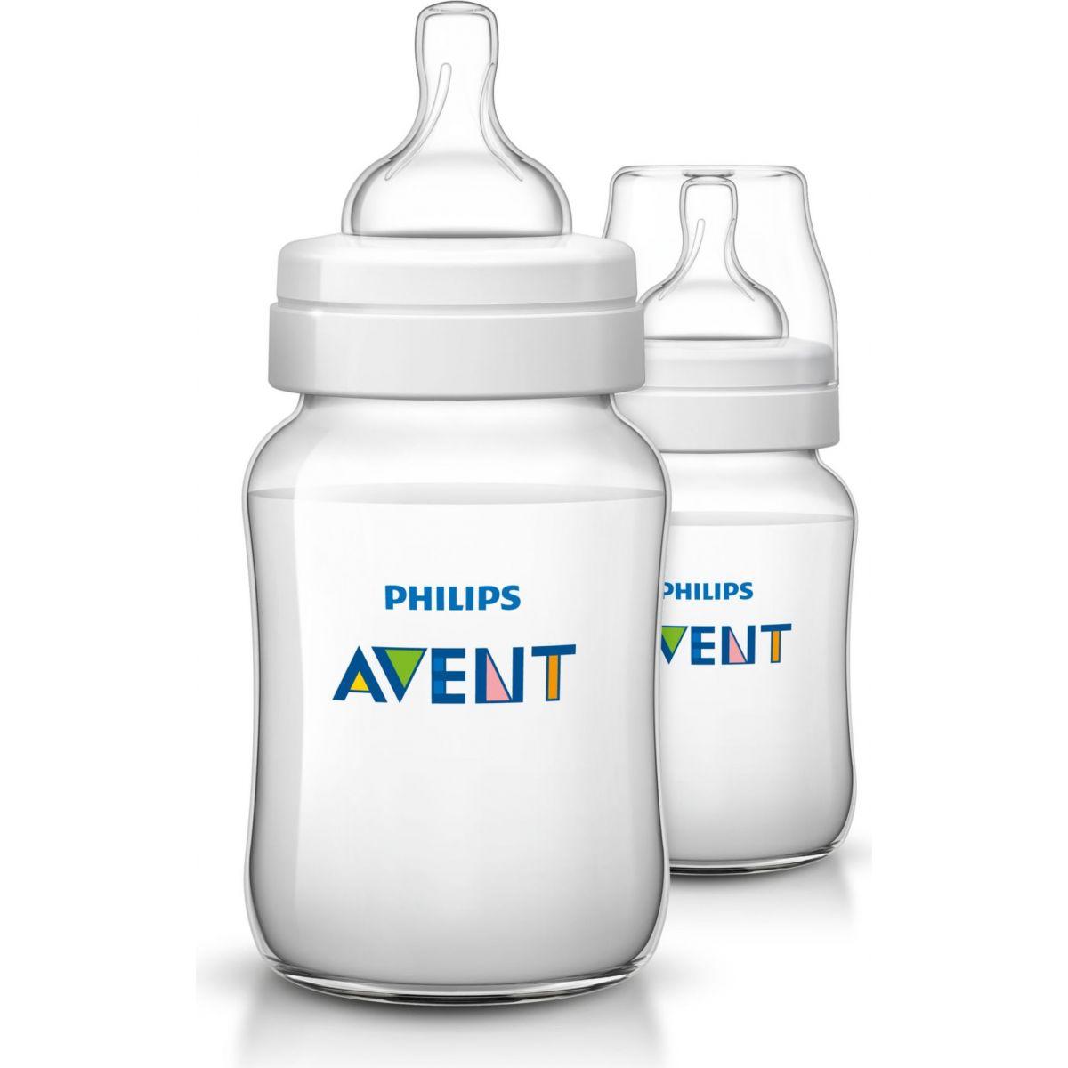 Philips Avent Avent fľaša 260ml PP Klasik+ 2ks