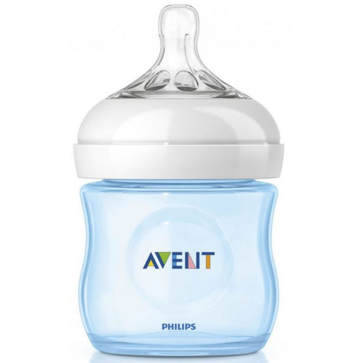 Avent Kojenecká láhev Natural 125 ml modrá obecná