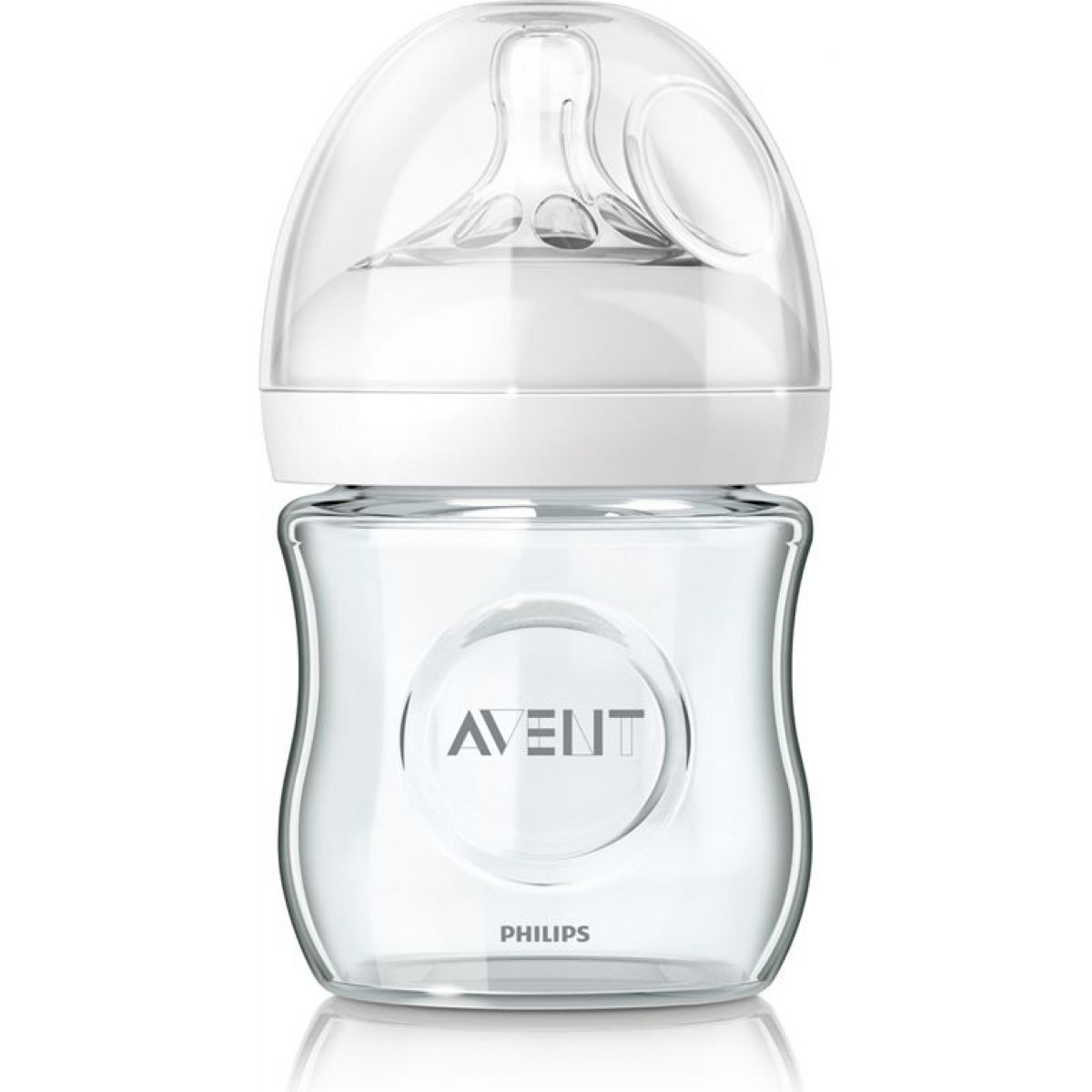 Avent Fľaša Natural SKLO 120 ml bez BPA