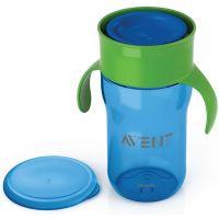 Philips Avent první skutečný hrneček 340 ml modro zelená