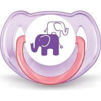 Philips Avent sada láhev 260 ml šidítko 2 ks pásek k šidítku s potiskem slonů růžová 4