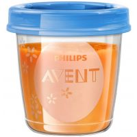 Philips Avent VIA pohárky s víčkem 180ml 5ks 2
