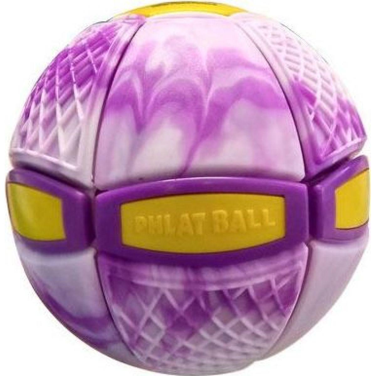 Phlat Ball junior Swirl fialový