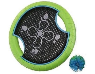 Phlat disc s loptičkou zelený
