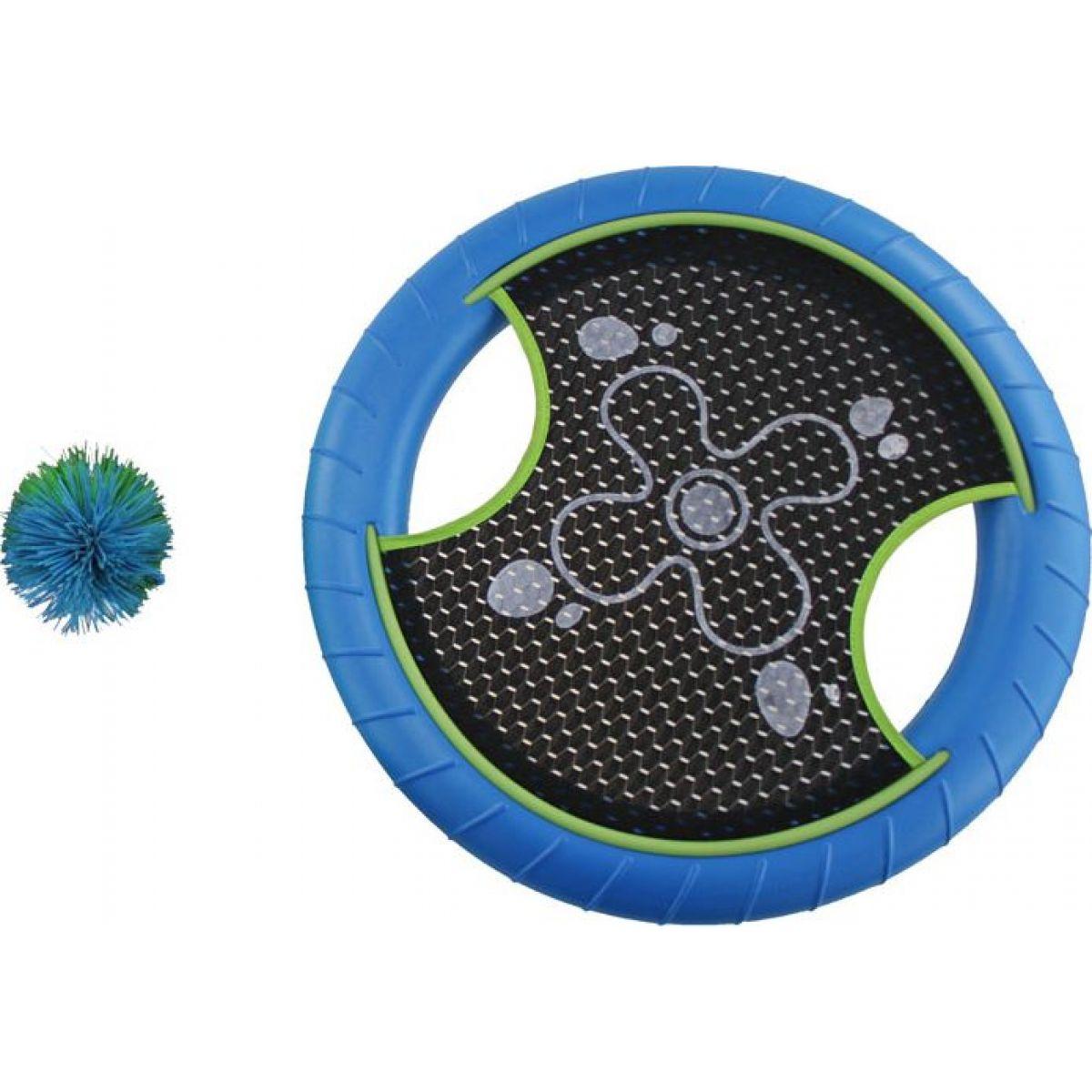 Phlat disc s loptičkou modrý