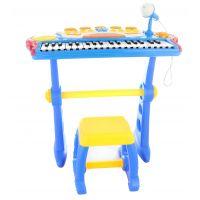 Piáno s adaptérem 37 kláves modré