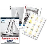 Piatnik Poker Plachetnica America s Cup
