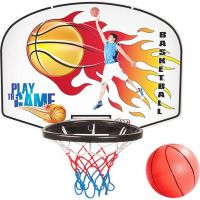 Pilsan Deska Basket s terčem na šipky Červená