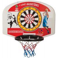 Pilsan Toys Basketbalová doska - Červená