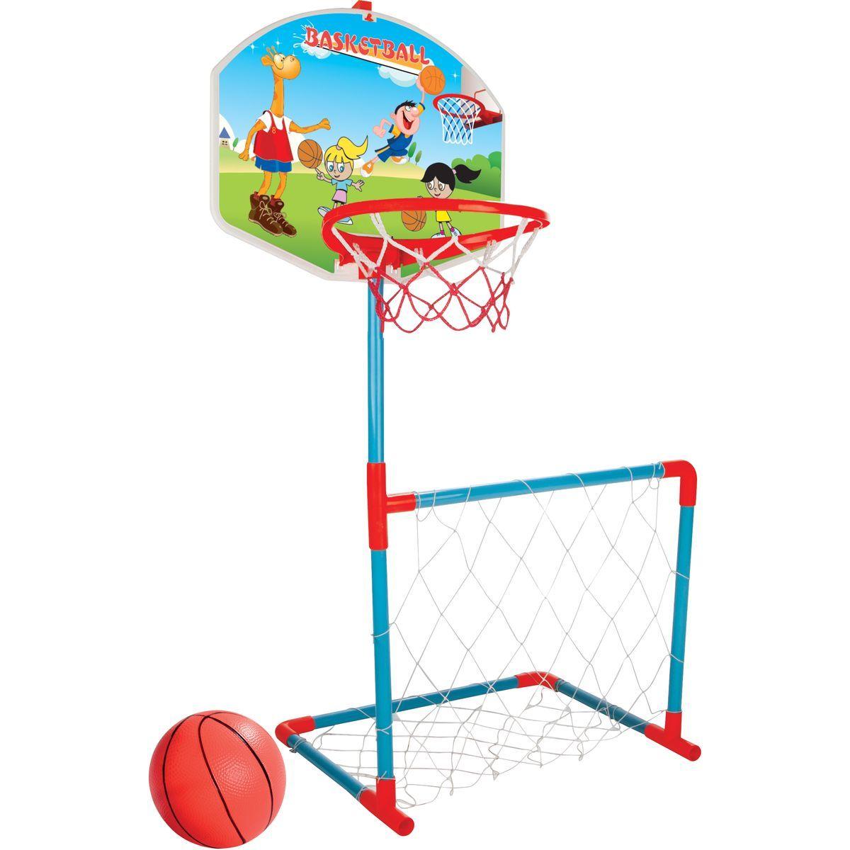 Pilsan Basket + futbalová bránka s loptou Deti