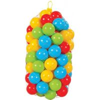 Pilsan Toys Vrecko plastových 9cm loptičiek 50ks