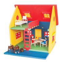 Pilsan stavebnica Poly mini domeček