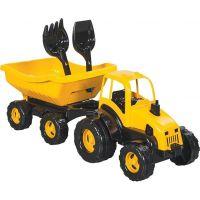 Pilsan Toys traktor s vozíkom 72 cm