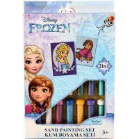 Pískování obrázků 2 v 1 Ledové království Elsa a Anna