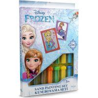 Pískování obrázků 2 v 1 Ledové království Anna a Elsa