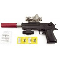Pištoľ 33cm na vodnej guličky s nábojmi 9 - 11 mm