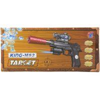 Pištoľ na vodné guličky vrátane nábojov 6 mm 2
