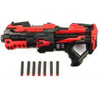 Pistole puška na pěnové náboje plast 45cm