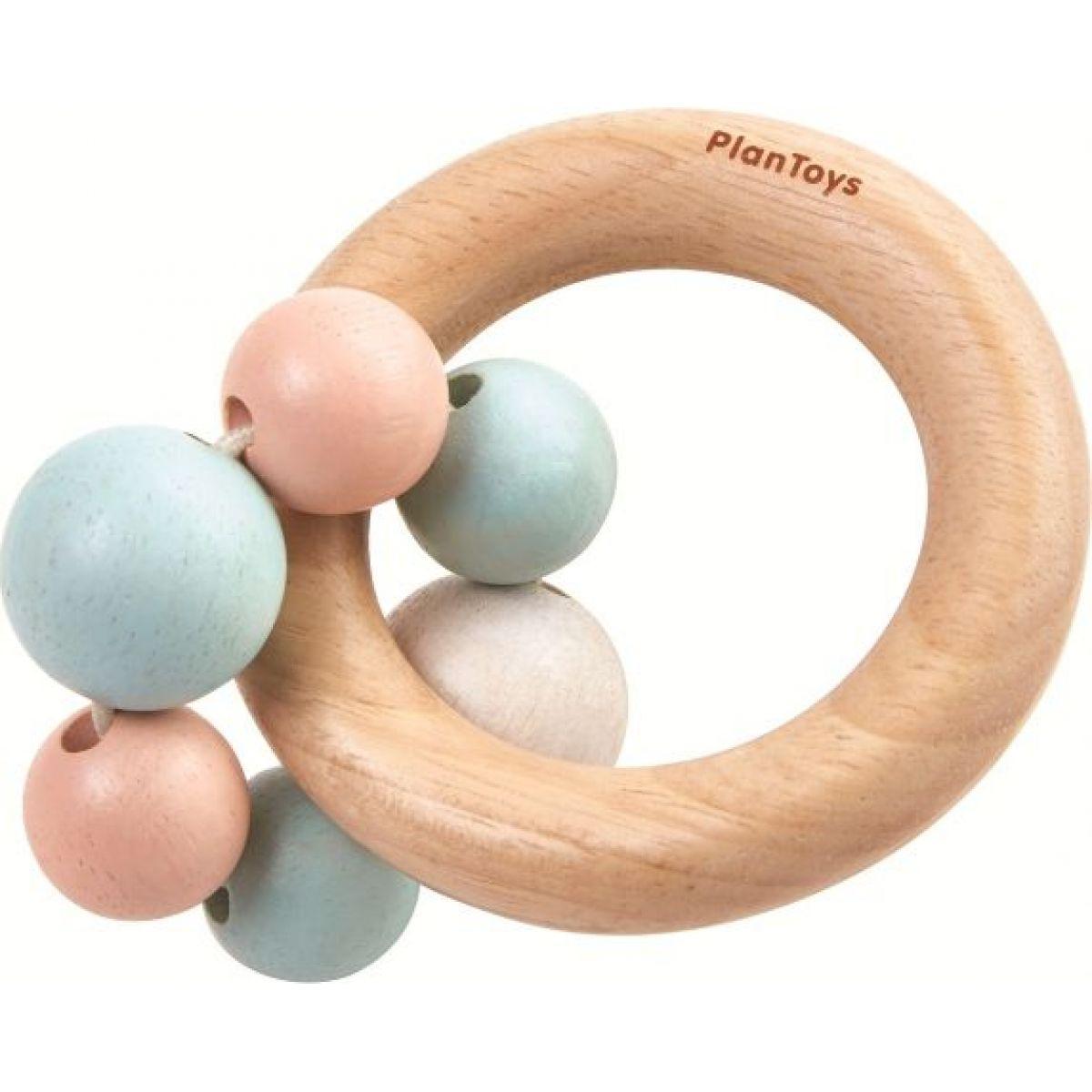 Plan Toys Hrkálka s krúžkami