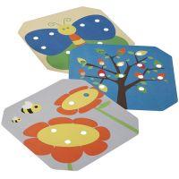 PlanToys PT5162 Kreativní kolíčková tabule 3