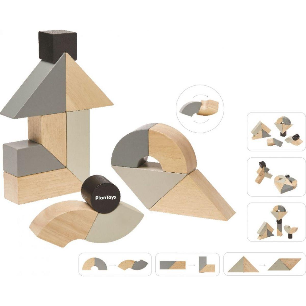 Plan Toys Otáčavé kocky