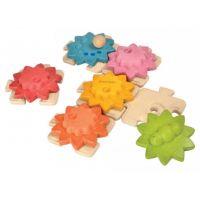 Plan Toys Ozubené kolesá a puzzle štandard 2
