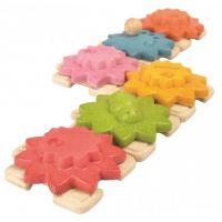 Plan Toys Ozubené kolesá a puzzle štandard 3