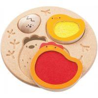Plan Toys  Puzzle Životní cyklus kuřete