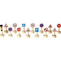 Plan Toys Sada dopravních značek a světel