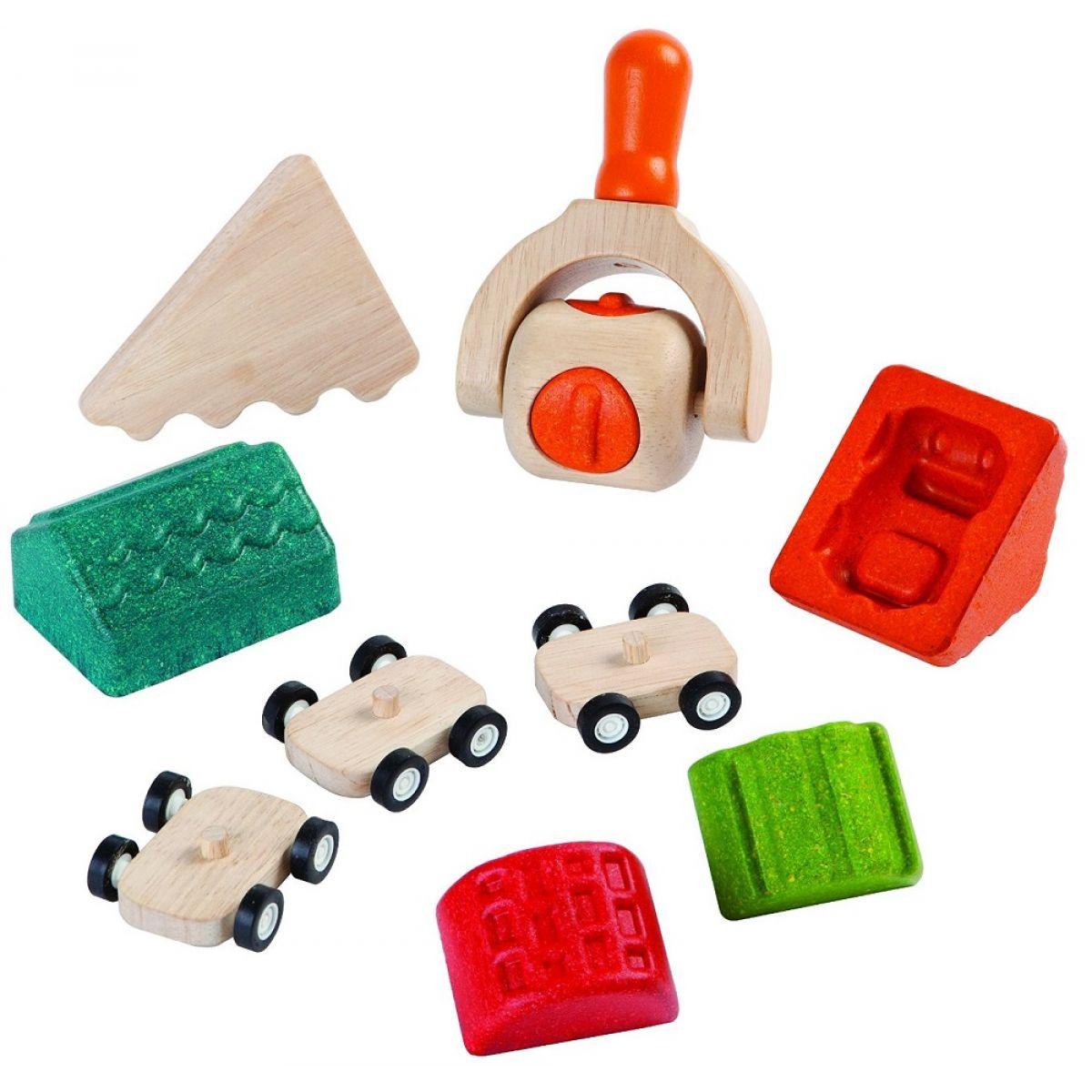 Plan Toys Sada na výrobu mesta z modelíny