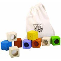 PlanToys Zmyslové kocky