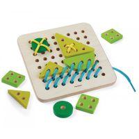 Plan Toys Šnurovacia tabuľka