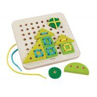 Plan Toys Šnurovacia tabuľka 2