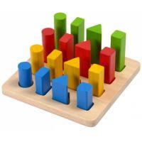 Plan Toys Triedenie tvarov a veľkostí