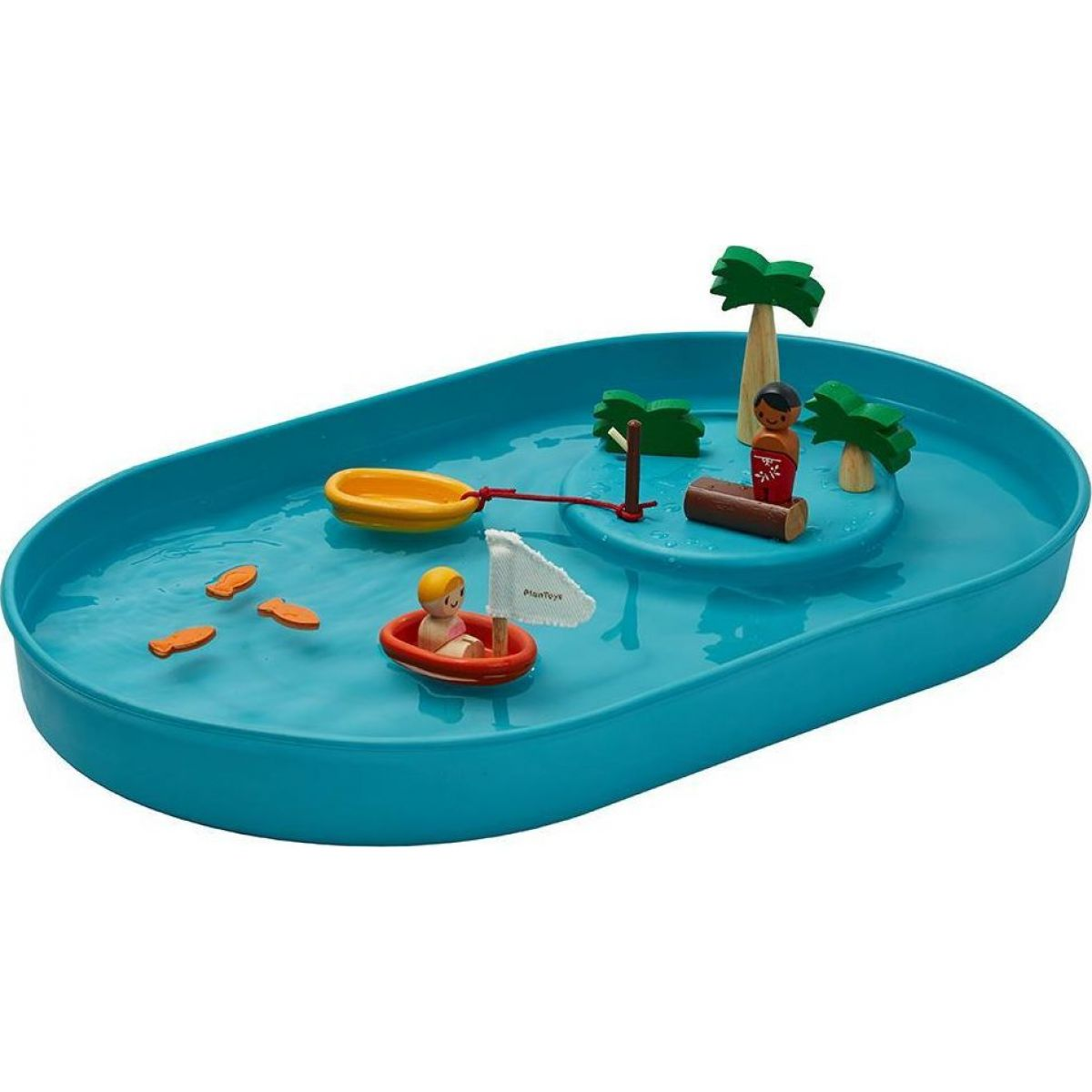 Plan Toys Vodná hra s jazierkom