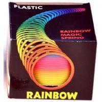 Plastic Špirála dúhová 2
