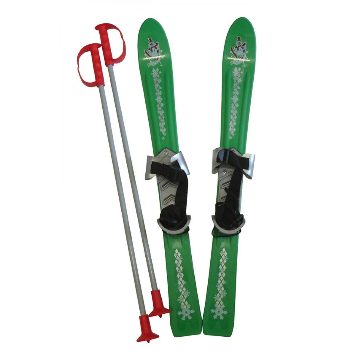 Plastkon Baby Ski Detské lyže 70 cm 2012 PP zelená