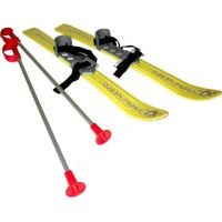 Plastkon Baby Ski Dětské lyže 70 cm PP žltá