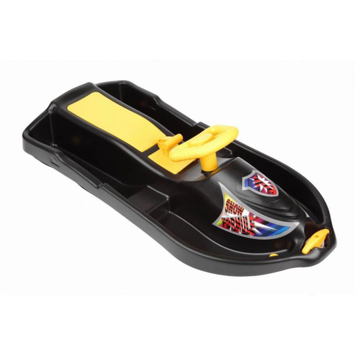 Plastkon bob Snow Formule Čierny