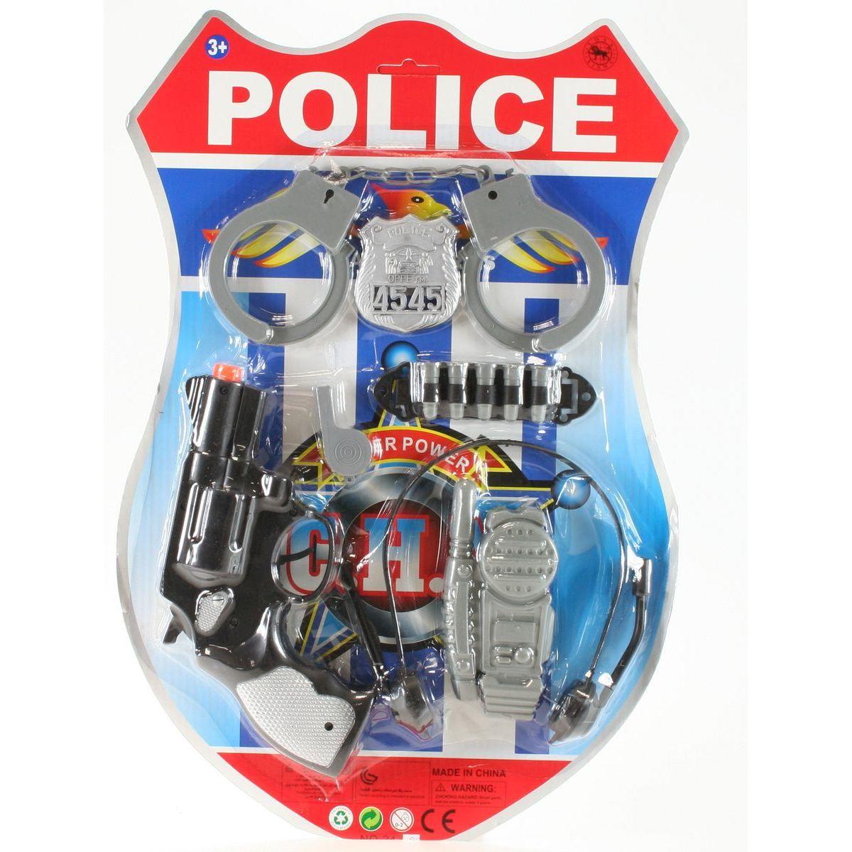 Plastová sada pre malého policajta