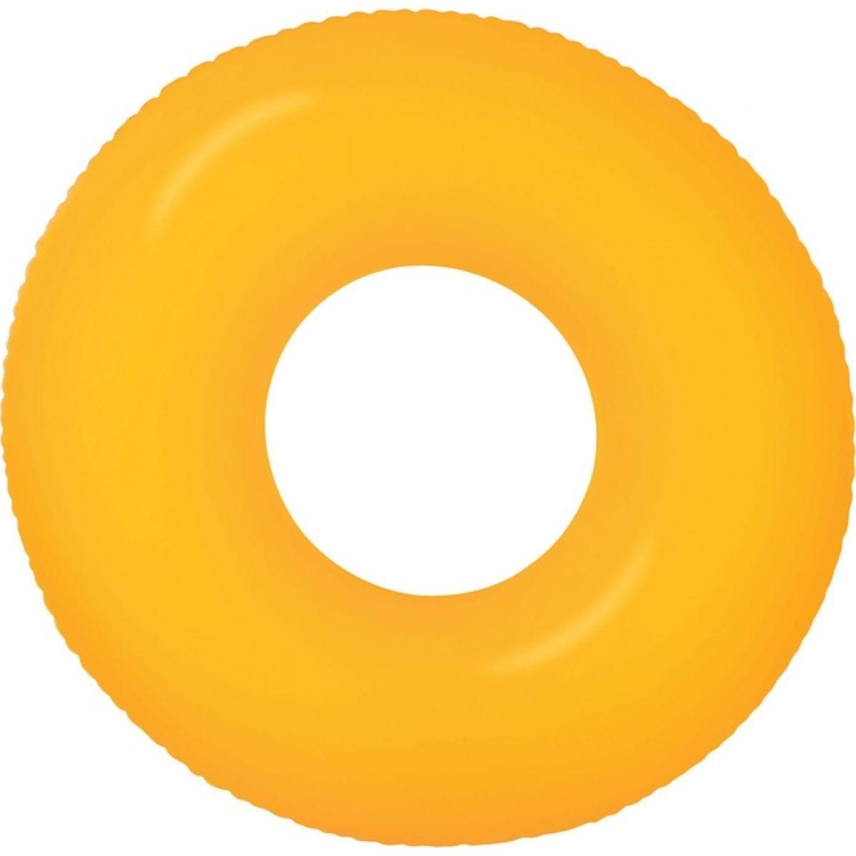 Plávacie koleso 91cm Neon Frost Intex 59262 - Oranžová