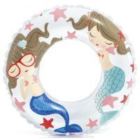 Intex 59242 Plávací kruh Oceán - Biela