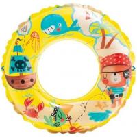 Plávací kruh Oceán Intex 59242 - Žltá