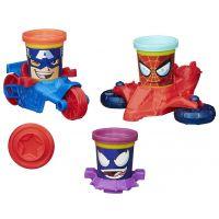 PlayDoh Avengers Kelímky ve tvaru hrdinů s vozidly